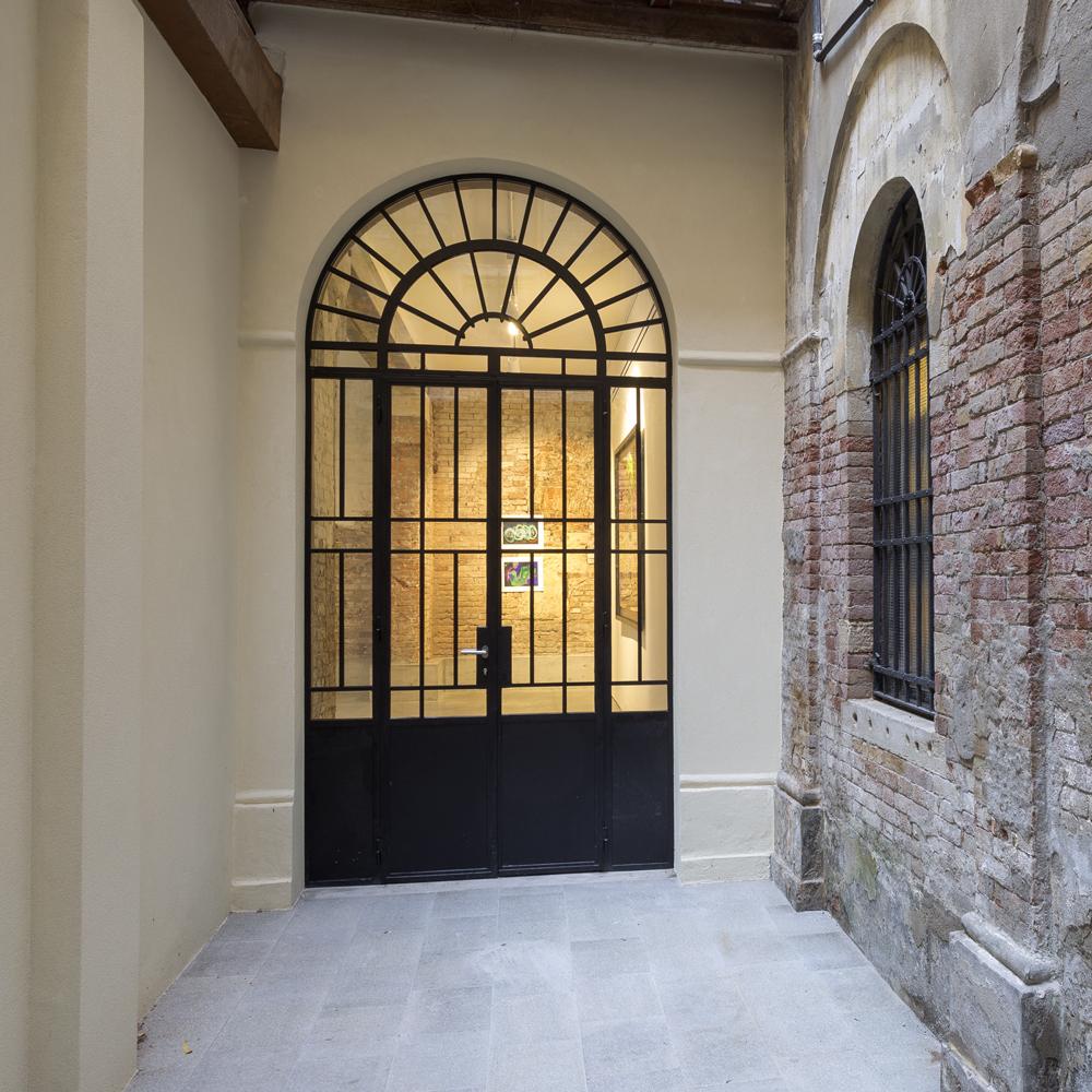 Via Garibaldi 1814 Art Space - corte esterna